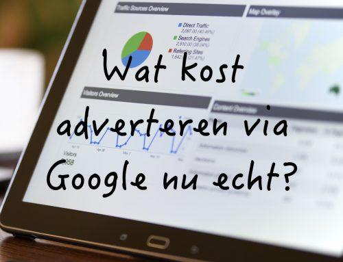 Wat kost een Google AdWords campagne nu echt?