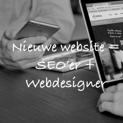 nieuwe website google specialist