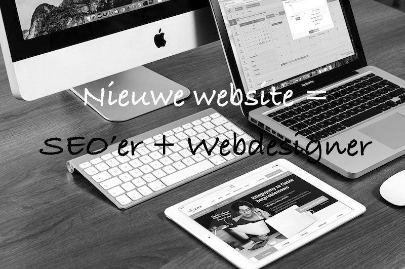 nieuwe website seo